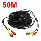 166Feet/50M YVPC-050 BNC RCA Audio Camera Security CCTV for Wire Surveillance