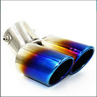 2015 New Super Quality Stainless Steel Pipes Tip Automobile Car Universal