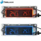 12V Transparent Shell Digital LCD Backlight Blue and Red Shiftable with