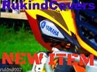 NEW RAPTOR 700 YFZ 450 white/blue YAMAHA HeadLight Covers RUKIND Covers