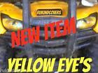 Honda Rancher TRX 420 Yellow EYE'S Headlight Cover's  RUKINDCOVERS UTV ATV MX