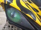 NEW GREEN Eyes YAMAHA YFZ 450 SPORT ATV HEADLIGHT COVERS RUKIND COVERS