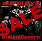 YAMAHA   Wolverine YFZ RAPTOR 700 REAPER Head Light Covers 2006-2018