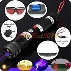 SKY2WBX1 445nm Adjustable Focus Blue Laser Pointer Burn Matches Light Cigarettes