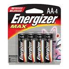 Energizer Max AA Batteries (Per 4) AA-4