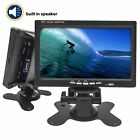 7 Inch TFT LCD SCREEN 800x480 Display Monitor With HDMI/VGA/AV,Support Security
