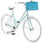 700c Women's Schwinn Scenic, Light Blue Bicycle Style Bike Basket Bell Xmas New
