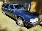1989 Volvo Classic Volvo 760 Turbo GLE 4 Door Station Wagon W Black Classic Volvo 760 Turbo GLE 4 Door Station Wagon With Extra