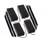 abcGoodefg 3.7V 18650 Battery Holder Case Plastic Battery Storage Box with ON/OF