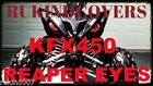 YAMAHA RAPTOR 700 YFZ 450 Wolverine REAPER HeadLight Covers ALL YEARS RUKIND