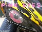 "Yamaha Raptor 660 SEXY PINK Eyes HeadLight Covers "" RUKINDCOVERS""ATV MX"