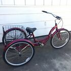 Less than 5 miles on it! Schwinn Adult Trike Tricycle Bike with Basket