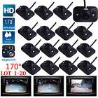 170° CMOS Car Rear View Backup Parking Camera Waterproof HD Night Vision LOT USA