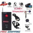 Hidden Camera GSM Audio Bug Finder Anti Spy Detector GPS Signal Lens RF Tracker