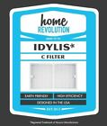 Home Revolution Replacement HEPA Filter, Fits Idylis IAP-10-200 and IAP-10-280 A