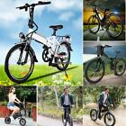 Unisex Outdoor Folding Electric Bicycle Mountain Snow Bike Worker City E-Bike