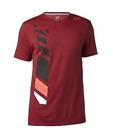 Fox Racing Side Seca Tech Tee T-Shirt - Heather Red - Medium OR Large