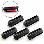5PC Black Color Cylindrical 3 AAA Plastic Battery Holder Case For Portable Torch