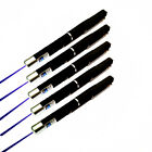 5PC High Power Light Beam 5mw 405nm Blue Violet Laser Pointer Pen Pet Toy Laser