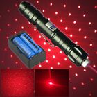 5mw 650nm Red Laser Pointer 20Mile Belt clip Powerful Light Beam+Battery+Charger