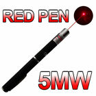 2018 New Red Laser Pointer Pen Visible Beam Light 5mW Lazer High Power 532nm CA