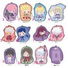 FGO Fate/Grand Order Sanrio Chulainn Emiya Illyasviel PVC Card Case Strap Be
