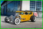 Ford Model A Nostalgic Built Chopped Top Hot Rod 1931 Ford Model A Sedan, 364 Stroker 500hp V8, 4-Speed Manual Transmission