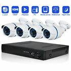 Security Camera System Abowone 4 CH 720P POE Cameras system Indoor & Outdoor &