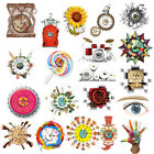 Magideal Kids Bedroom Decorative Wall Clock Home Art Sticker Decals 20 Style