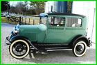 1929 Ford Model A Frame Off Restoration 1929 Ford Model A All Steel, 2-Door Coupe, 4-cyl, 3-Speed Manual Trans, RWD