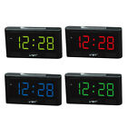 MagiDeal 2'' Large LED Digital Alarm Clock Table Desk Clock Decor US Plug