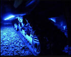 4PC LED Snowmobile Underglow 12v Custom LED Neon Accent Lighting Blue Atv