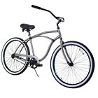 "Zycle Fix Classic 26"" Men's Beach Cruiser Bike Bicycle Raw"
