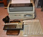 Hewlett-Packard HP 71B Calculator w/ HP9114 & HP2225B, Fully Working AMC 90DW