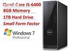 2016 NEW Dell Inspiron 3000 Premium High Performance Small Form Desktop PC,...