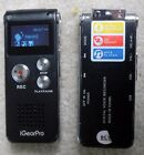 iGearPro Multifunctional Rechargeable Digital Voice Recorder & MP3 Player 8GB