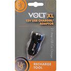 Ultimate Survival Technologies VOLT XL 12 Volt USB Charger/Adaptor, Black