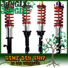 RED DIY COILOVER KIT SILVER SLEEVE NEO TOP HAT FOR 1994-2001 INTEGRA DC2