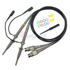 1 Pair Oscilloscope Scope Clip Probes Kit P6060 60MHz 1X/10X  (FREE US SHIPPING)