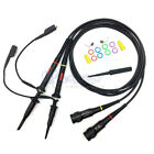 1 Pair Oscilloscope Scope Clip Probes Kit P6200 200MHz 1X/10X (FREE US SHIPPING)
