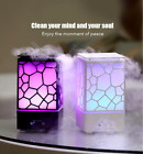 USB Charger LED Light Romantic Aura Aroma Essential Oil Diffuser Air Purifier