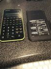 SHARP EL-501X Scientific Calculator Tested Works great with cover.