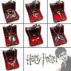 Harry Potter Snitch/Owl/Horcrux Metal/Crystal Pendants+Bracelets/Necklace+Box