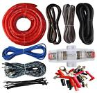 Car Audio Amp Wiring Kit Amplifier Sound System 4 Gauge Cable Wire Installation