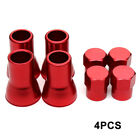 4pcs TPMS TIRE VALVE STEM CAP WITH SLEEVE COVER CHROME For AMERICAN CAR TRUCK
