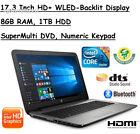2017 Edition HP 17.3 Inch HD+ (1600x900) SVA BrightView Premium High...