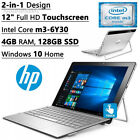 2016 HP 2-in-1 Spectre x2 Detachable Flagship High Performance 12 inch Full...