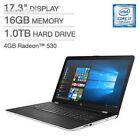 """2018 Premium HP 17.3"""" Full HD IPS Business Gaming Laptop - Intel Dual-Core..."""