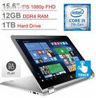 """HP Envy x360 15.6"""" Touchscreen 2-in-1 IPS 1080p Full HD Laptop PC, Intel..."""