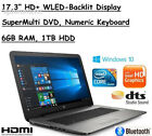 "2017 Edition HP 17.3"" HD+ (1600x900) High Performance WLED-Backlit Laptop..."
